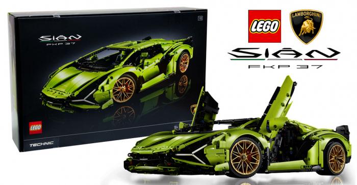LEGO® Technic: Lamborghini Sián FKP 37 42115 1