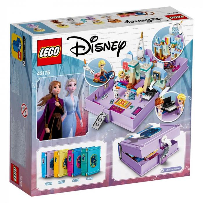 43175 LEGO® Disney Princess™: Aventuri din cartea de povesti cu Anna si Elsa  [0]