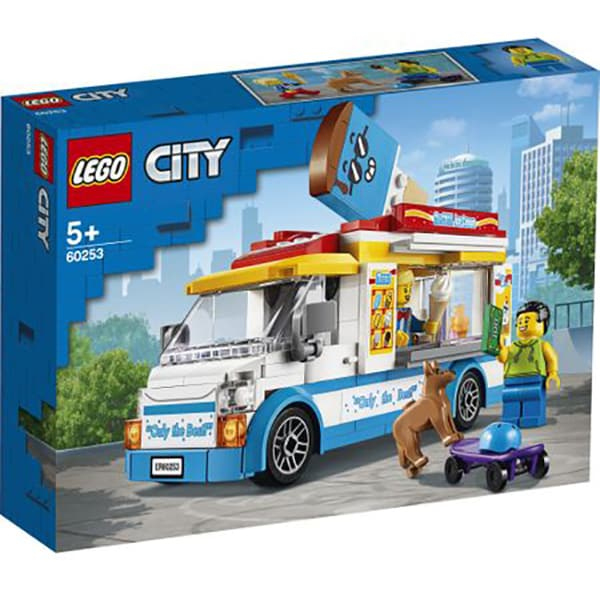 60253 LEGO® City: Furgoneta cu inghetata  0