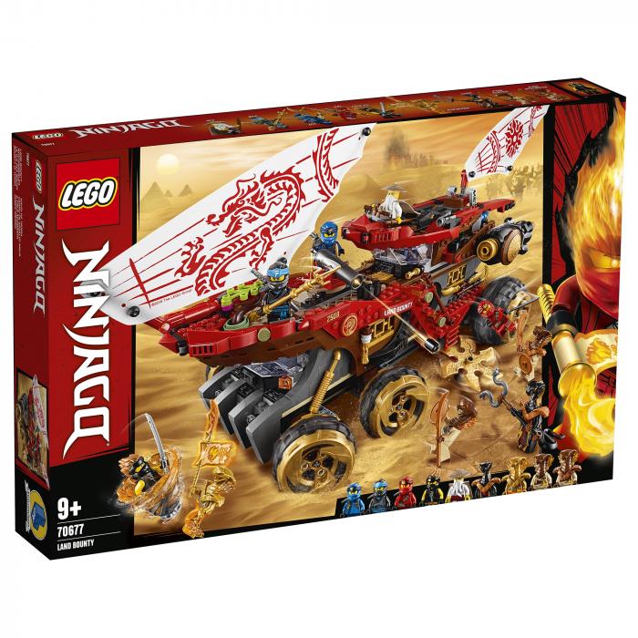 70677 LEGO® NINJAGO®: Bounty de teren 0