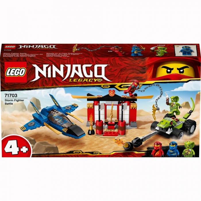 71703 LEGO® NINJAGO® : Intrecere cu Avionul de lupta [0]