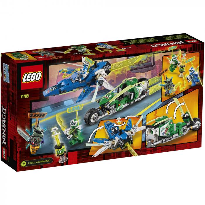 71709 LEGO® NINJAGO®: Masinile de curse ale lui Jay si Lloyd  [0]