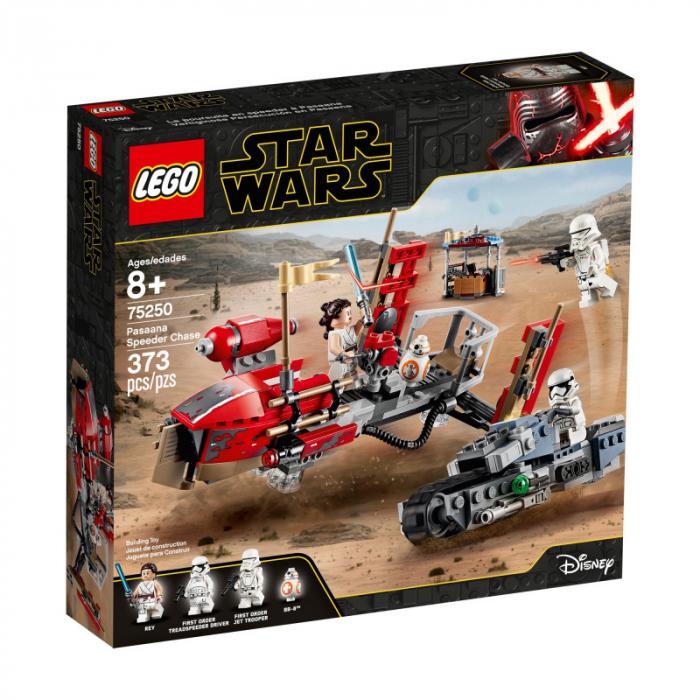 LEGO Star Wars - Urmarirea cu speederul Pasaana 75250, 373 piese [0]