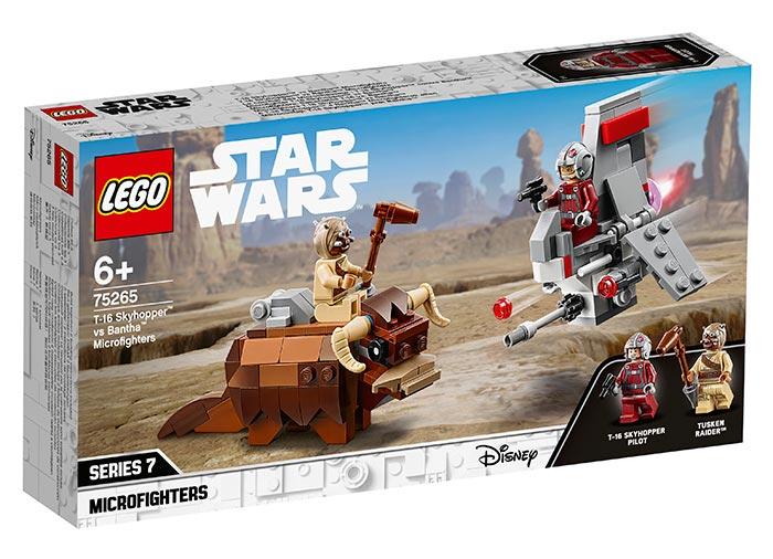 75265 LEGO® Star Wars™: Microfighter T-16 Skyhopper vs. Bantha [0]