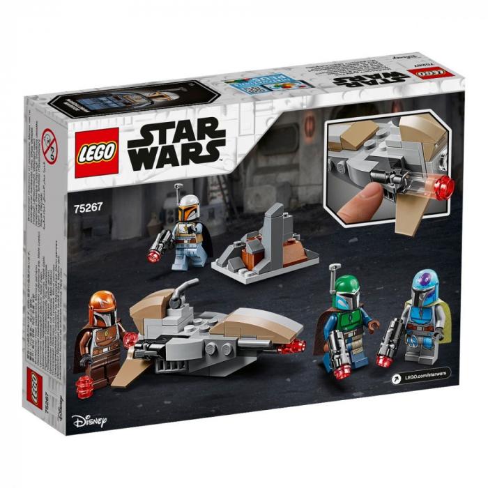 75267 LEGO® Star Wars™: Pachet de lupta Mandalorian  [0]