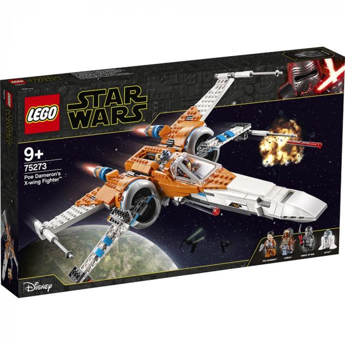 75273 LEGO® Star Wars™: X-wing Fighter  al lui Poe Dameron  [0]