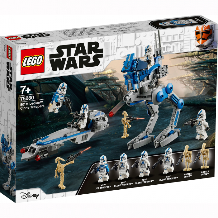 75280 LEGO® Star Wars: Clone Troopers din Legiunea 501  [0]
