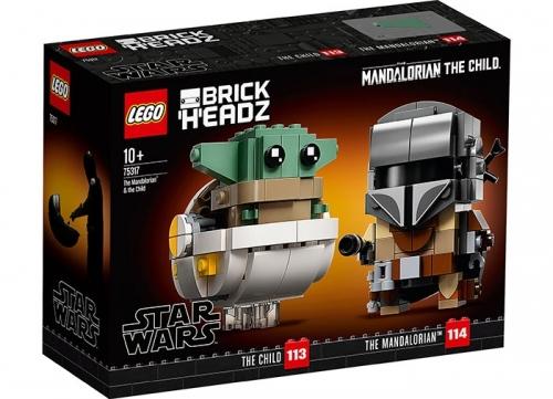 75317 LEGO® Star Wars: Mandalorian si Copilul  [0]