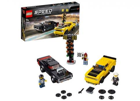75893 Speed Champions: 2018 Dodge Challenger SRT Demon și 1970 Dodge Charger R/T [0]