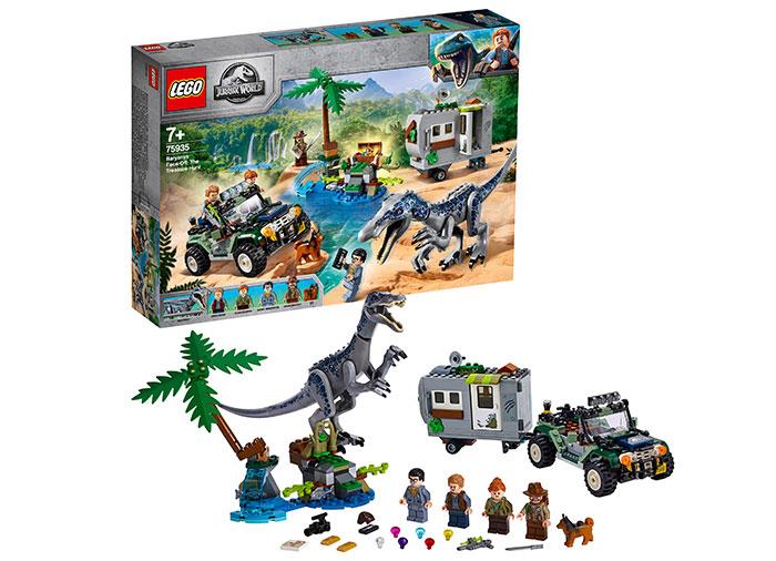 75935 LEGO® Jurassic World: Infruntarea Baryonyx: Vanatoarea de comori [0]