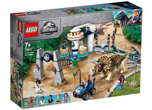 75937 LEGO® Jurassic World: Triceratops dezlantuit [0]