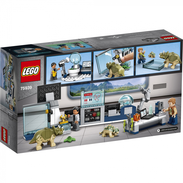 LEGO Jurassic World - Laboratorul Dr. Wu: Evadarea puilor de dinozaur 75939 [0]