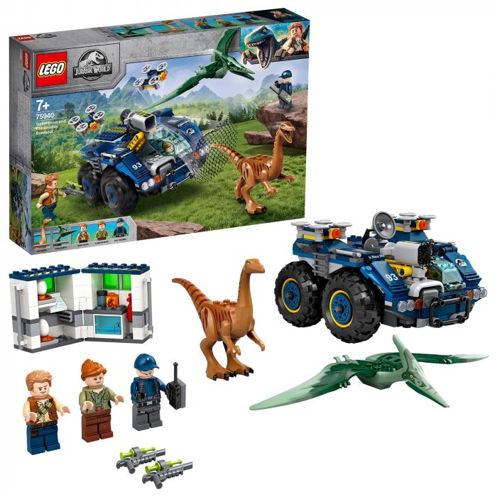 75940 LEGO® Jurassic World: Evadarea lui Gallimimus si Pteranodon [0]