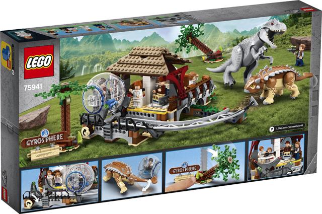 75941 LEGO® Jurassic World: Indominus Rex contra Ankylosaurus [0]