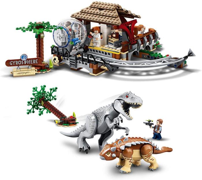 75941 LEGO® Jurassic World: Indominus Rex contra Ankylosaurus 2