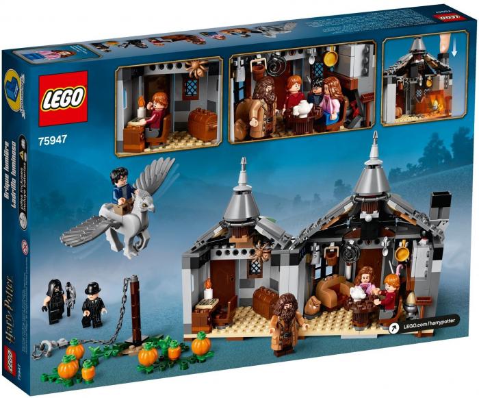 75947 LEGO® Harry Potter TM: Coliba lui Hagrid: Eliberarea lui Buckbeak  [0]
