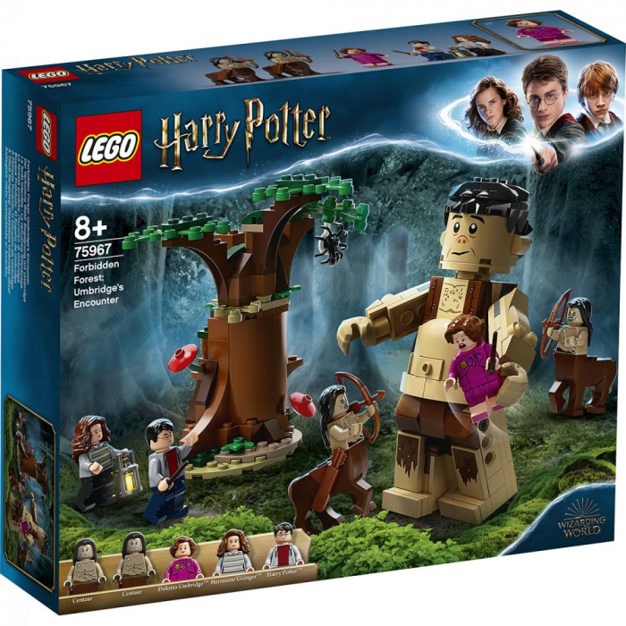 LEGO Harry Potter - Padurea interzisa: intalnirea dintre Grawp si Umbridge 75967, 253 piese [0]