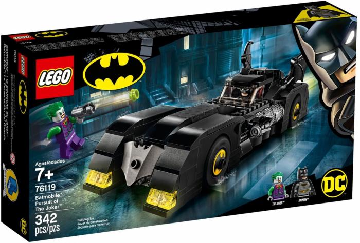 76119 LEGO® Super Heroes: Batmobile: Urmarirea lui Joker [0]