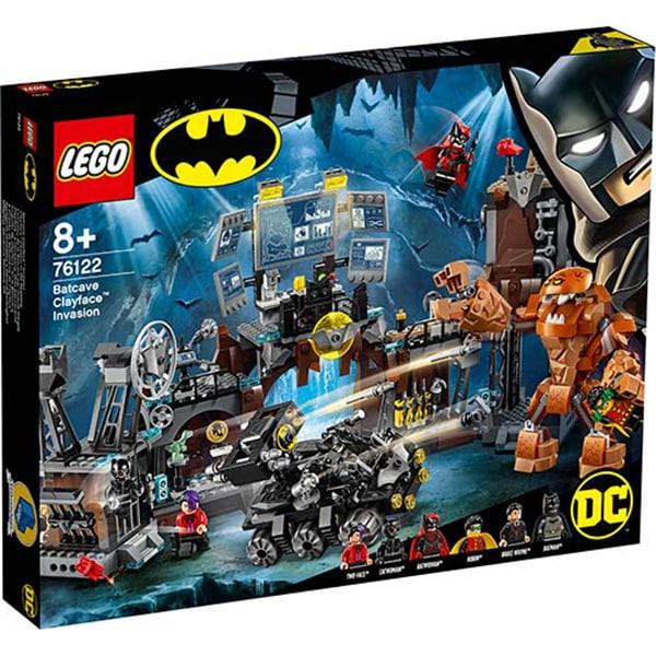 76122 LEGO® Super Heroes: Invazia lui Clayface in Batcave [0]