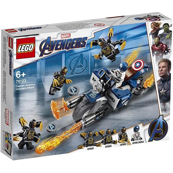 76123 LEGO® Super Heroes: Captain America: Atacul Outriderilor [0]