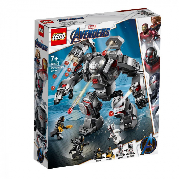76124 LEGO® Super Heroes: Spargator de Masini de razboi [0]