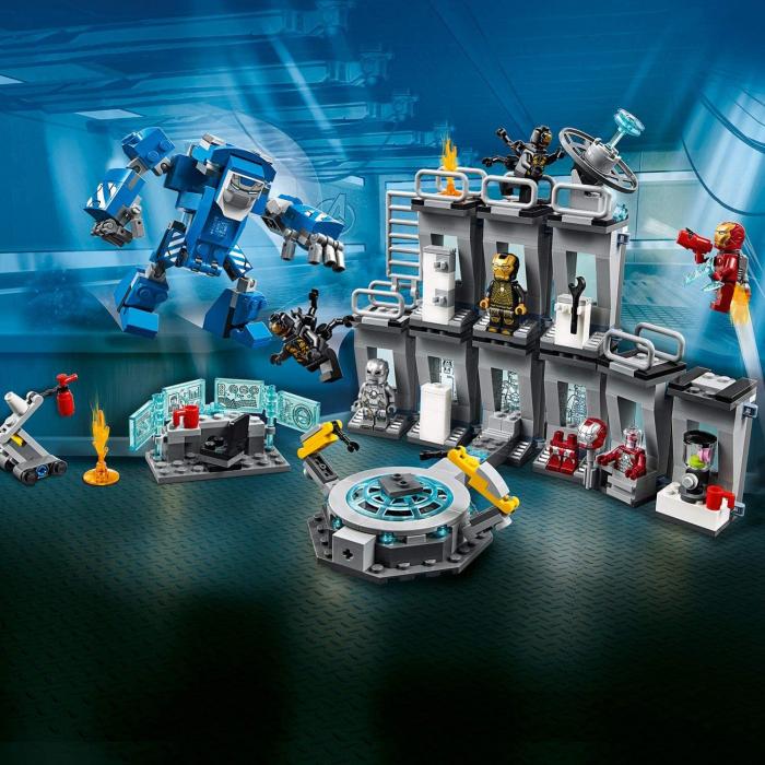 76125 LEGO® Super Heroes: Iron Man - Sala Armurilor [0]