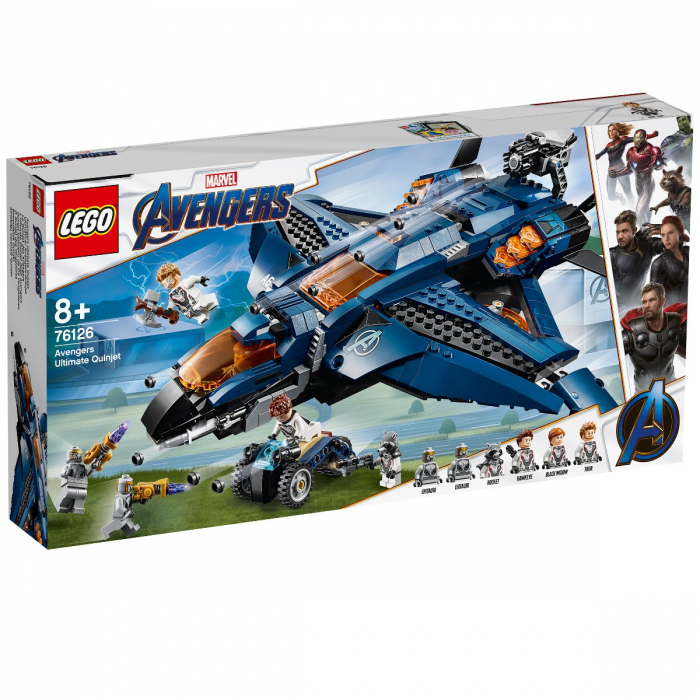 76126 LEGO® Super Heroes: Quinjetul suprem al Razbunatorilor [0]