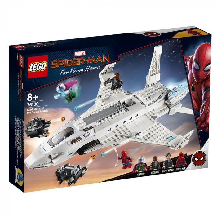 76130 Marvel Super Heroes:  Avionul Stark si atacul dronelor [0]