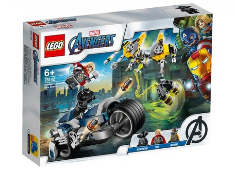 LEGO Super Heroes - Atacul Razbunatorilor cu motociclete 76142 [0]