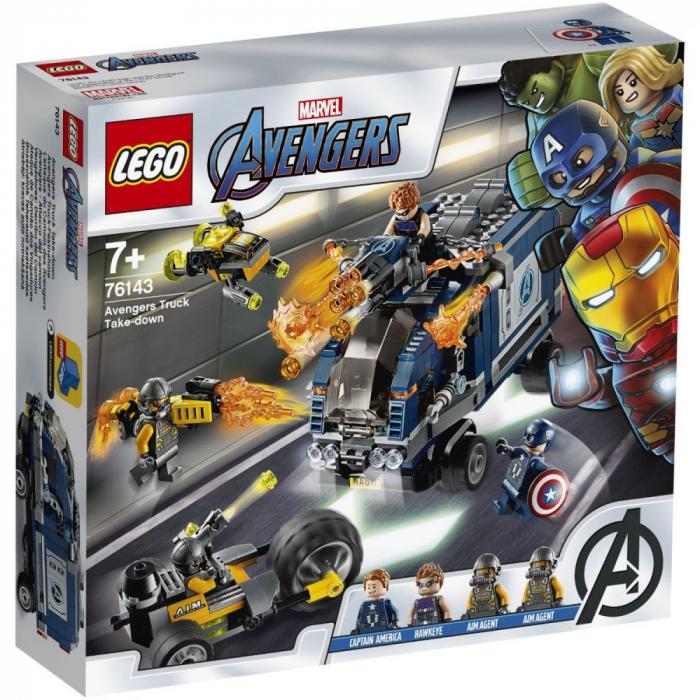 76143 LEGO® Marvel Super Heroes: Razbunatorii - distrugerea camionului [0]