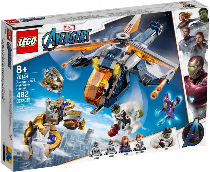 76144 LEGO® Super Heroes:  Atacul lui Hulk cu elicopterul [0]