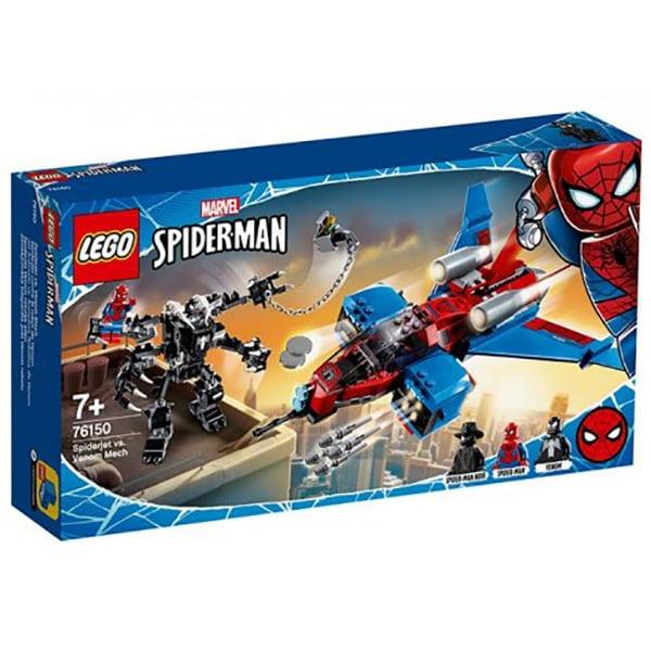 76150 LEGO® Marvel Super Heroes: Spiderjet contra Robotul Venom [0]