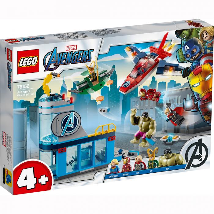 76152 LEGO® Marvel Super Heroes: Furia Razbunatorilor impotriva lui Loki [0]