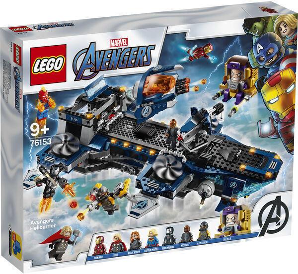 76153 LEGO® Marvel Super Heroes: Elicopter de transport al Razbunatorilor [0]