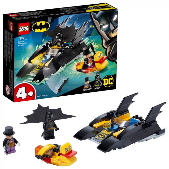 76158 LEGO® DC Super Heroes: Urmarirea Pinguinului [0]