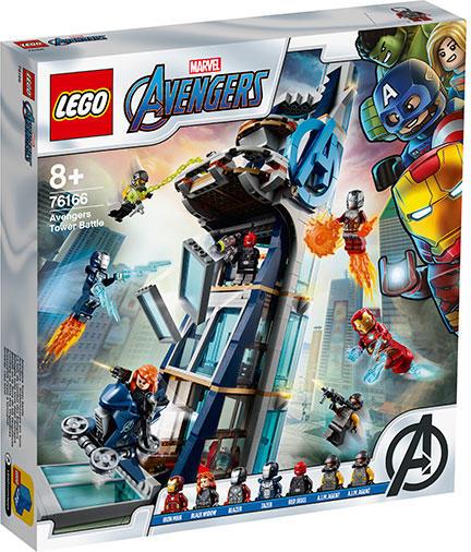 76166 LEGO® Super Heroes: Lupta din turn a Razbunatorilor  [0]