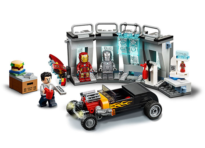 76167 LEGO® Super Heroes: Arsenalul lui Iron Man  3