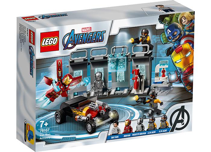 76167 LEGO® Super Heroes: Arsenalul lui Iron Man  0