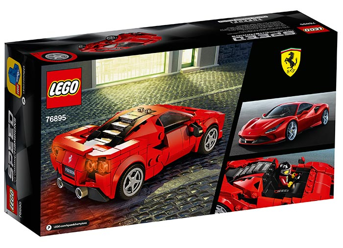 76895 LEGO® Speed Champions: Ferarri F8 Tributo   1