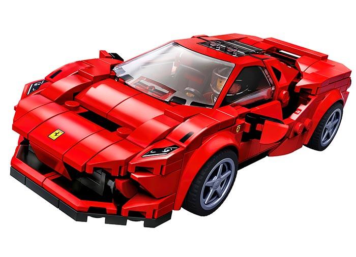 76895 LEGO® Speed Champions: Ferarri F8 Tributo   2