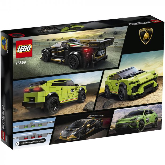 76899 LEGO® Speed Champions: Lamborghini Urus ST-X & Lamborghini Huracán Super Trofeo EVO [0]