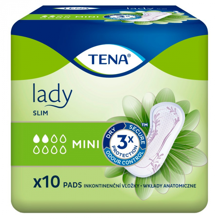 Absorbante Incontineta Urinara Tena Lady Slim Mini, 10 bucati 0