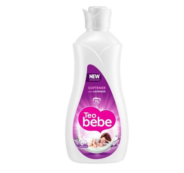 Detergent Rufe Teo Bebe softener Lavender, 1.9 L 0