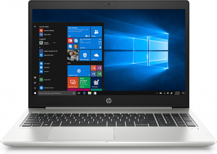 """HP ProBook 450 G7 Notebook Silver 39.6 cm (15.6"""") 1920 x 1080 pixels 10th gen Intel® Core™ i7 16 GB DDR4-SDRAM 1512 GB HDD+SSD NVIDIA® GeForce® MX250 Wi-Fi 6 (802.11ax) Windows 10 Pro [0]"""