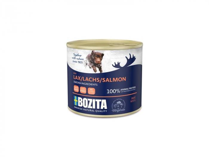 Hrana umeda pentru caini, Bozita®, cu somon, 625 gr [0]