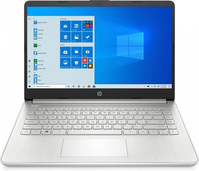 "Laptop HP, 14"", i3 1005G1 (pana la 3.4 GHz), 16 GB DDR4, 512 GB SSD, Windows 10 Home, Silver [0]"
