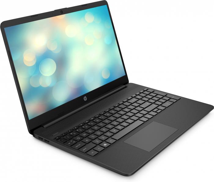 "Laptop HP, 15.6"", AMD Ryzen 3 5300U (pana la 3.8 GHz), 4 GB DDR4, 256 GB SSD, Free Dos, Black [2]"