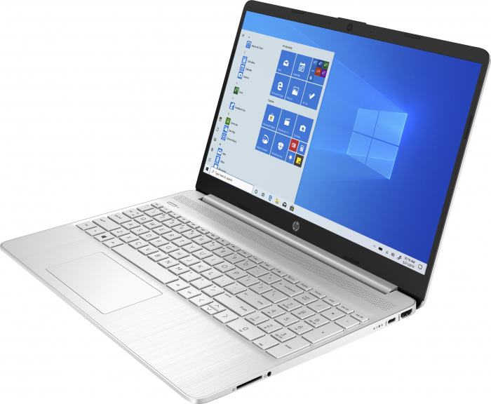 "Laptop HP, 15.6"", AMD Ryzen 3 5300U (pana la 3.8 GHz), 8 GB DDR4, 256 GB SSD, Windows 10 Home, Silver [1]"