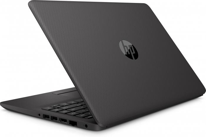 "Laptop HP 240 G8, 14"", Intel® Core™ i3 1005G1 (pana la 3.4 GHz), 4 GB DDR4, 512 GB SSD, Windows 10 Home, Dark Ash Silver [4]"