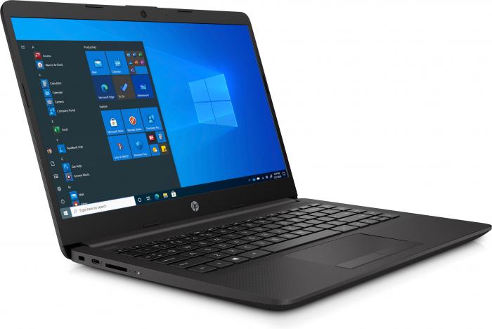 "Laptop HP 240 G8, 14"", Intel® Core™ i3 1005G1 (pana la 3.4 GHz), 8 GB DDR4, 512 GB SSD, Windows 10 Home, Dark Ash Silver [2]"
